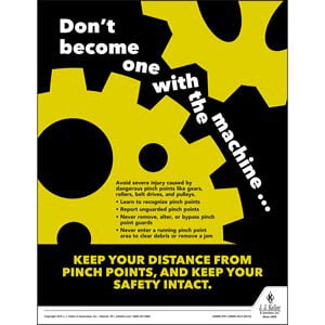 Machines - Workplace Safety Advisor Poster