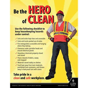 Clean Workplace - Workplace Safety Training Poster