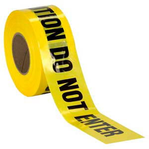Universal Spill Clean-Up Kit - Caution: Do Not Enter Tape
