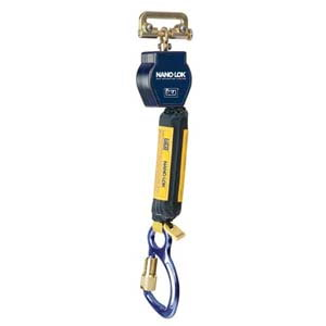Capital Safety® DBI Sala Nano-Lok Quick Connect Self Retracting Lifeline-Web