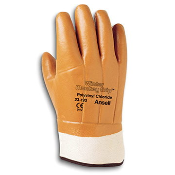 Ansell Winter Monkey Grip® 23-193 Insulated Gloves