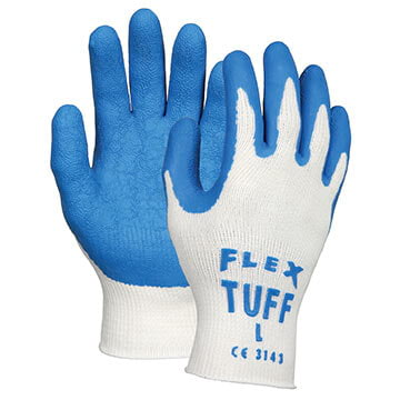 MCR Safety® Flex-Tuff 9680 Latex-Dipped Work Gloves