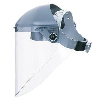 Fibre-Metal® F500 Heavy-Duty Faceshield Headgear 7' Crown Protector