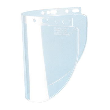 Fibre-Metal® High-Performance Clear Wide Window Faceshield