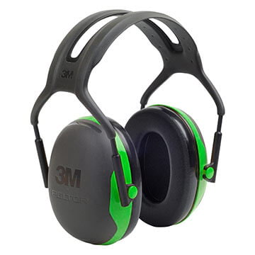 3M™ Peltor™ X Series Over-The-Head Earmuff