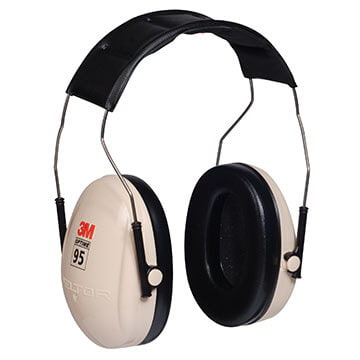3M™ Peltor™ Optime™ 95 Series Headband Earmuff