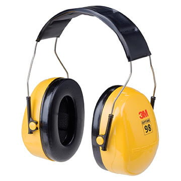3M™ Peltor™ Optime™ 98 Series Headband Earmuff
