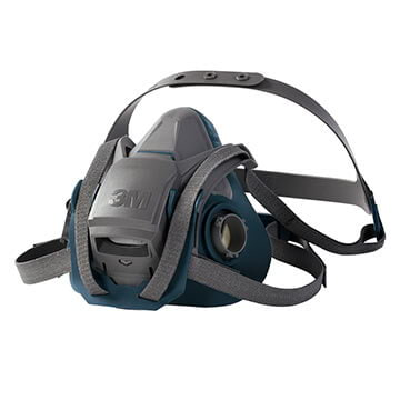 3M™ Reusable 6500 Series Quick Latch Rugged Comfort Half Facepiece Respirator