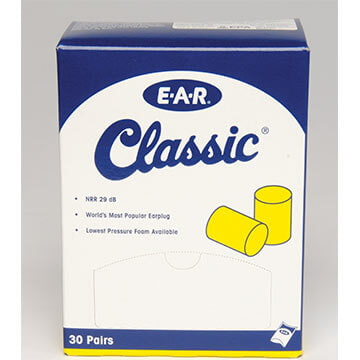 3M™ E-A-R™ Classic™ SuperFit™ Uncorded Pillow Pack Earplugs