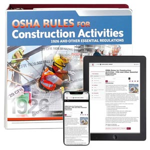 OSHA Rules for Construction Activities