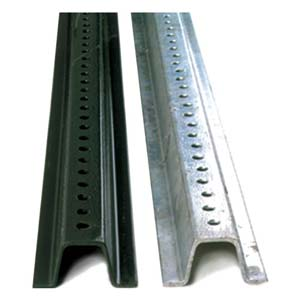 Standard Weight U-Channel Posts - Accessories