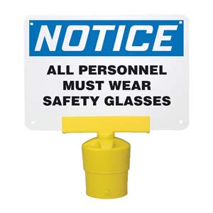 Blockade Sign Clamp Accessory