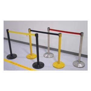 Blockade Retractable Belt Tape Barriers
