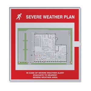 Severe Weather Map Holder