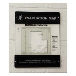 Evacuation Map Unassembled