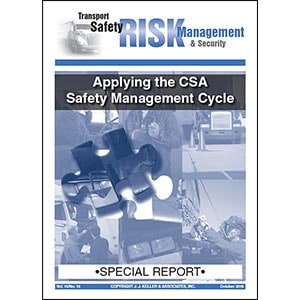 Special Report - Applying the CSA Safety Management Cycle