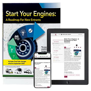 Start Your Engines: A Roadmap for New Entrants Manual + Online Edition