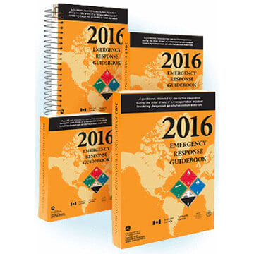 2016 Emergency Response Guidebook (ERG)