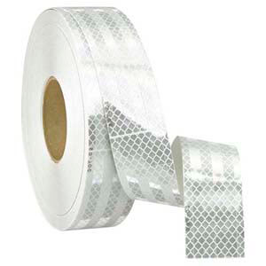 Conspicuity Tape Rolls for Trailers – White, 3M™ Flexible Prismatic