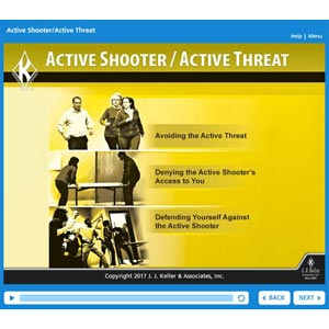 Active Shooter/Active Threat Online Training Course