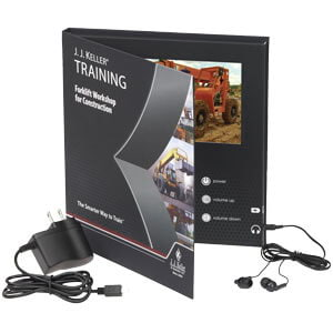 Forklift Workshop for Construction - Video Training Book
