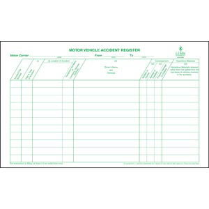 Motor Vehicle Accident Register