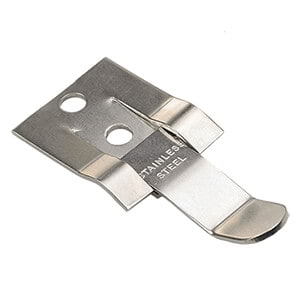 Stainless Steel Clip – Low-Profile