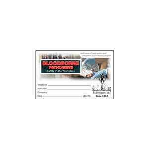 Bloodborne Pathogens: Safety in the Workplace – Wallet Card