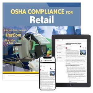 OSHA Compliance for Retail Manual