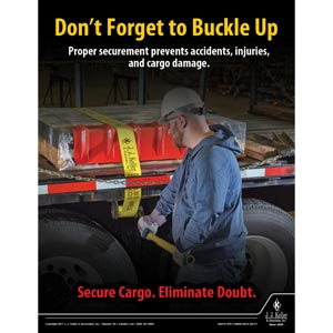 Buckle Up - Transportation Safety Poster