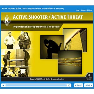 Active Shooter/Active Threat: Organizational Preparedness & Recovery - Online Training Course