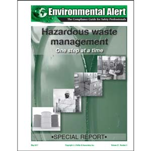 Special Report - Hazardous Waste Management: One Step at a Time