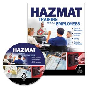 Hazmat: Training for All Employees - DVD Training