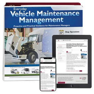 Everyday Vehicle Maintenance Management Manual