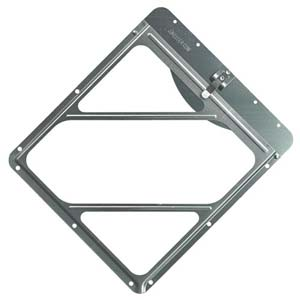 Aluminum Placard Holder With Top Plate