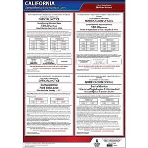 California / Santa Monica Municipal Code Poster
