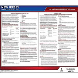 New Jersey / Passaic Paid Sick Leave Poster