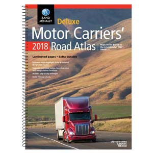 Rand McNally Deluxe Motor Carriers' Road Atlas