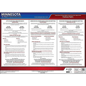 Minnesota / St. Paul Paid Sick Leave Poster