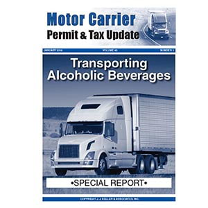 Special Report - Transporting Alcoholic Beverages