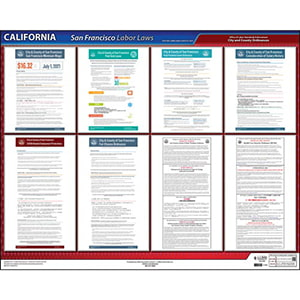 California / San Francisco Administrative Code Poster