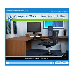 Computer Workstation Design & Use - Online Training Course