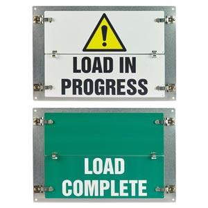 Flip-File Sign, Load Status, 2-Legend