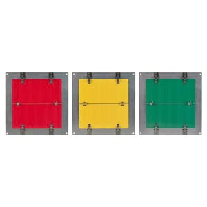 Flip-File Sign, Red/Yellow/Green, 3-Legend