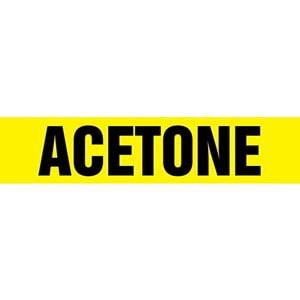 Acetone Pipe Marker - ASME/ANSI