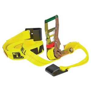 Web Keeper Ratchet Strap with Flat Hooks