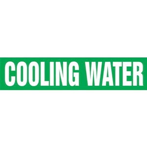 Cooling Water Pipe Marker - ASME/ANSI