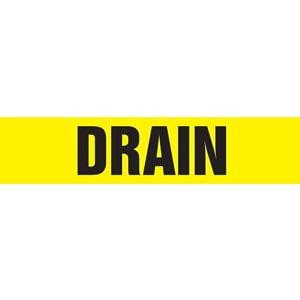 Drain Pipe Marker - ASME/ANSI