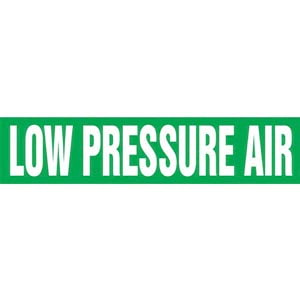 Low Pressure Air Pipe Marker - ASME/ANSI