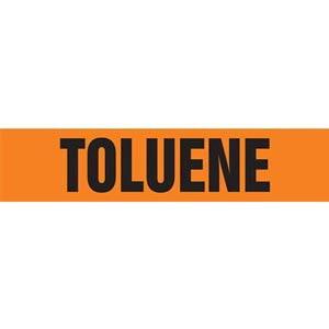 Toluene Pipe Marker - ASME/ANSI